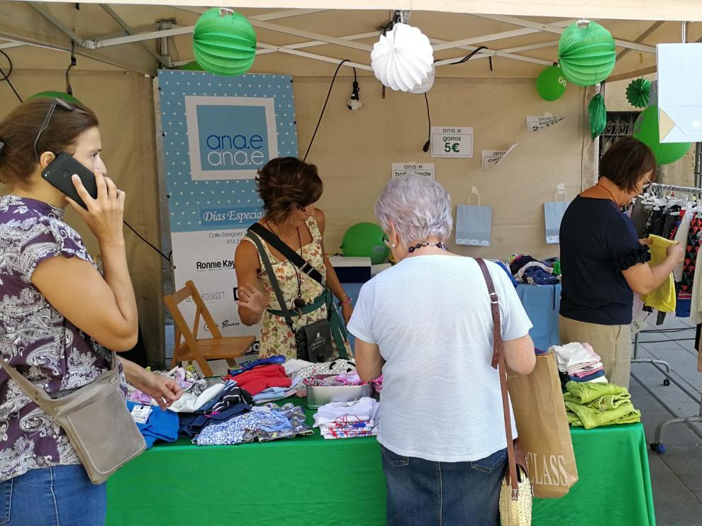 Imagen de la última edición del Green Friday de Huesca que se celebró en 2019.