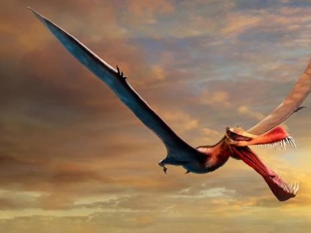 Recreación del dragón.