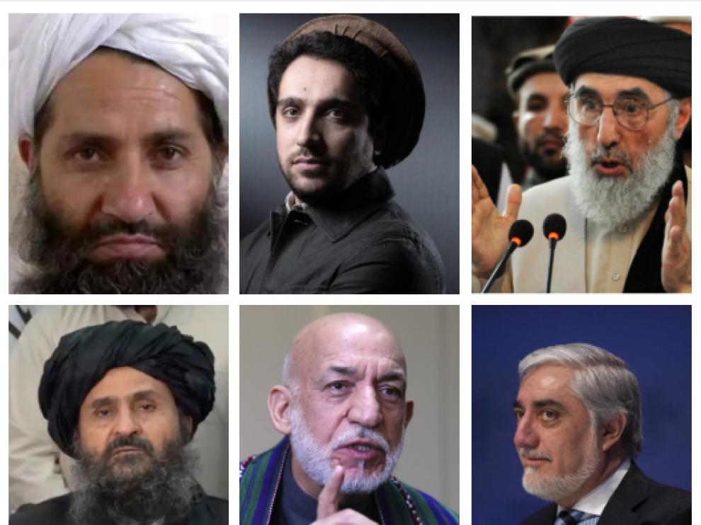 Quien es quien en Afganistán