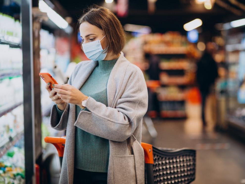 Con la aplicación, el consumidor puede consultar el aforo de la tienda y decidir así el mejor momento para hacer sus compras.