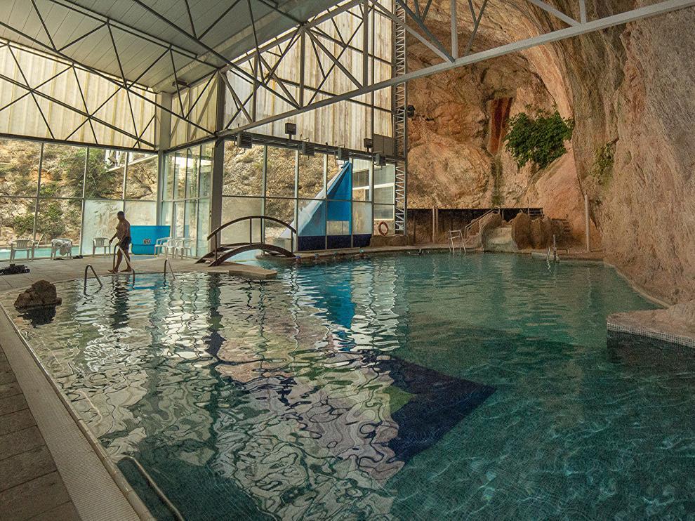 El balneario Sicilia, en Jaraba, ha vuelto a abrir sus puertas.