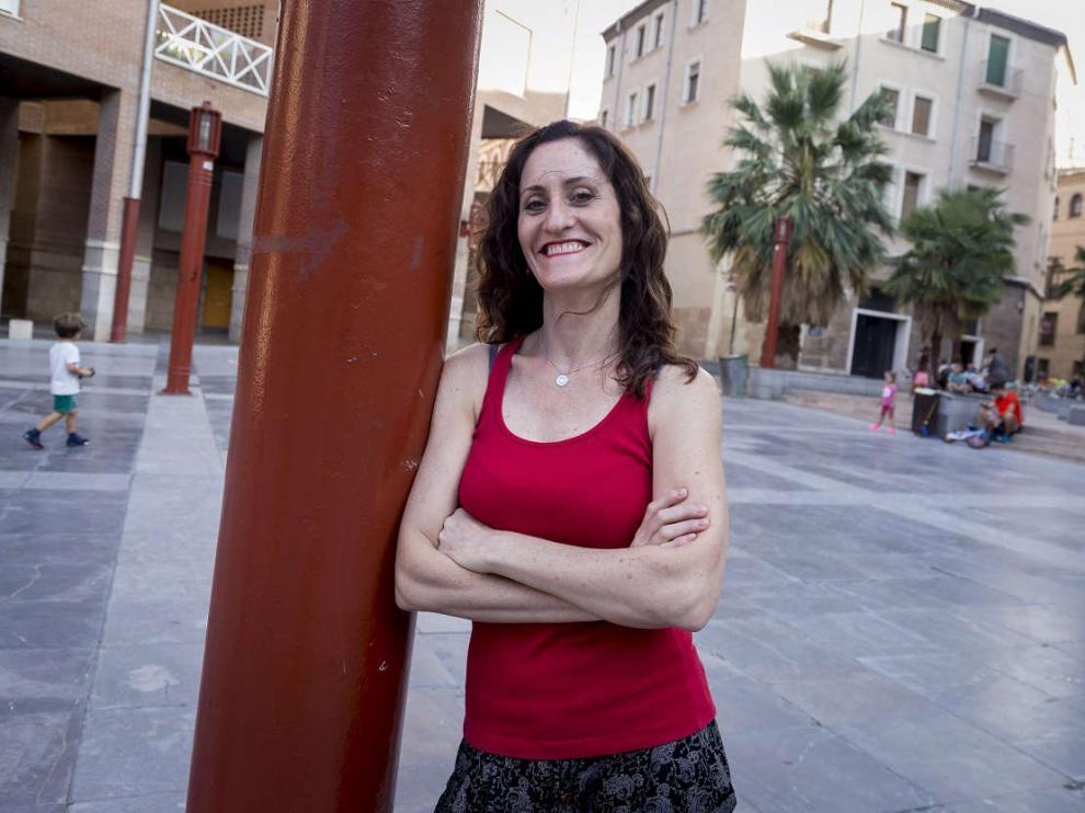 La actriz Laura Gómez-Lacueva, Premio Talento Aragonés del Festival de Cine de Comedia Tarazona