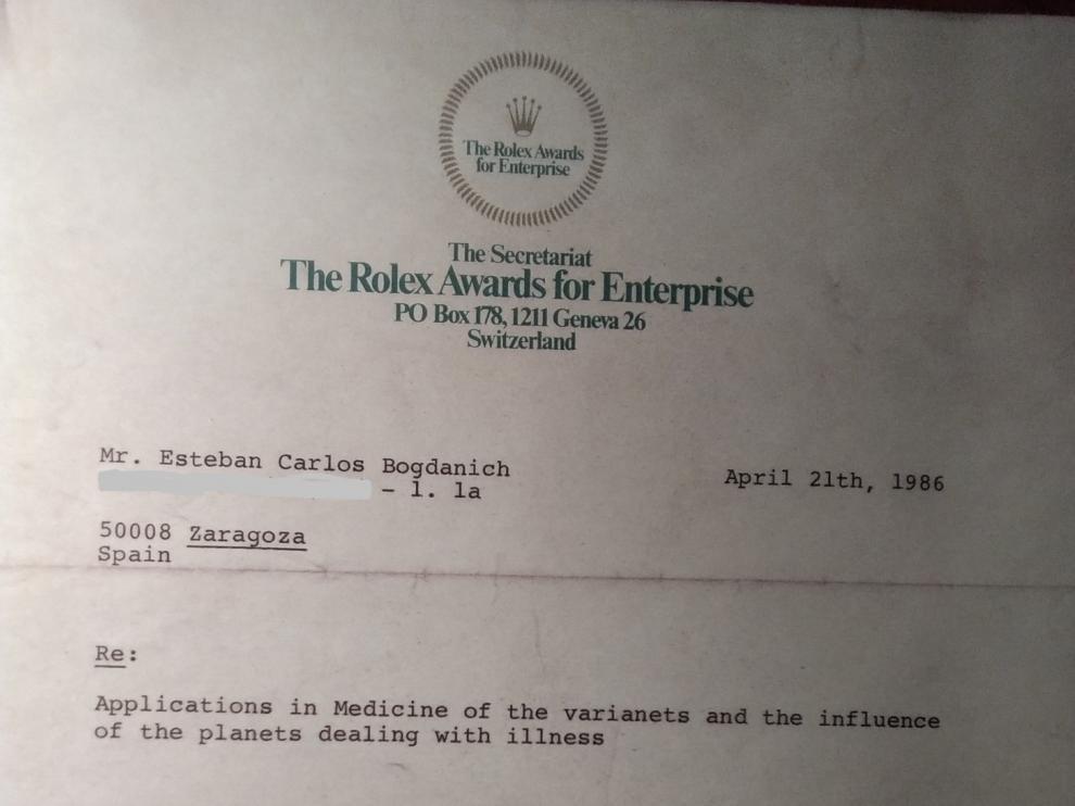 Documento acreditativo de la investigación.