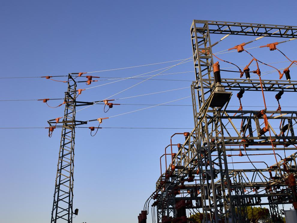 Imagen de una central eléctrica.