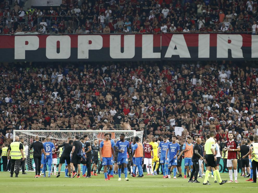 Ligue 1 - OGC Nice v Olympique de Marseille