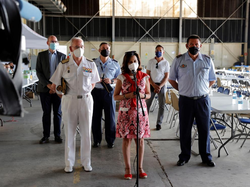 Robles visita la Base Aérea de Torrejón