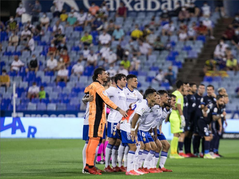 La afición del Real Zaragoza volvió en partido oficial a La Romareda el pasado día 13, en el estreno de la liga ante el Ibiza.