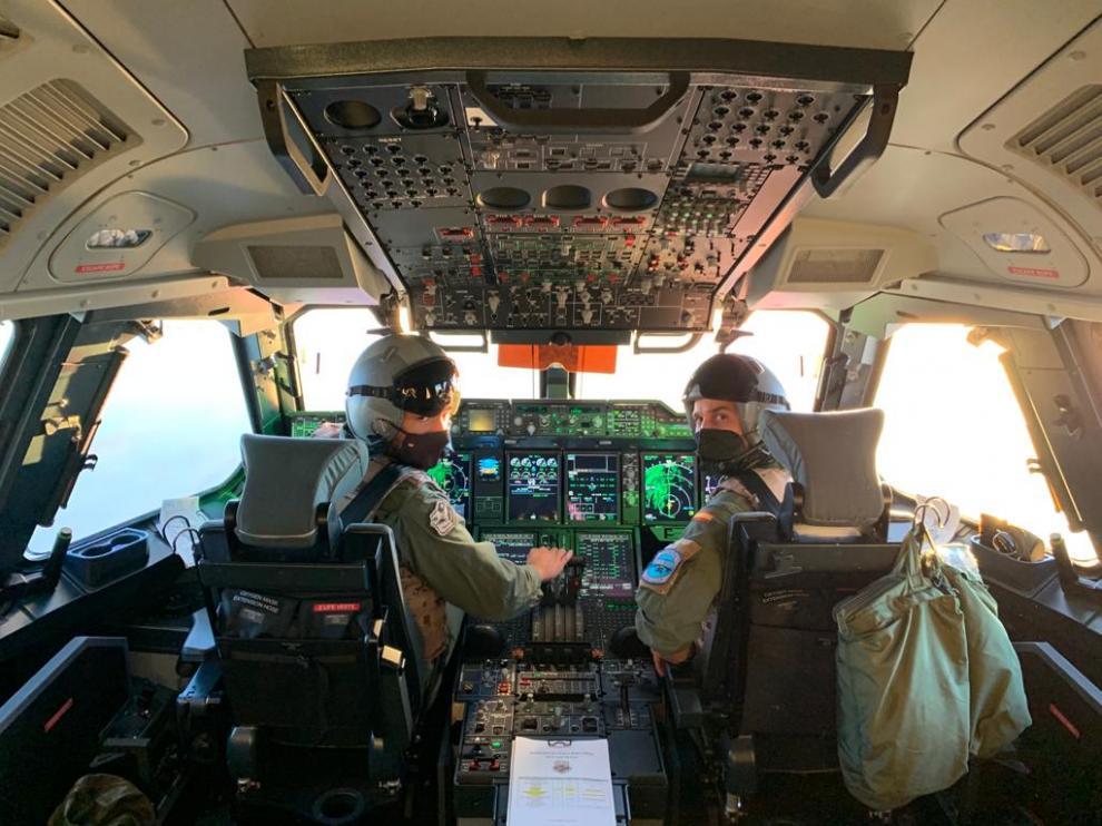 El personal del Ala31 que participa en el operativo Dubái-Kabul para la evacuación de españoles y colaboradores afganos.