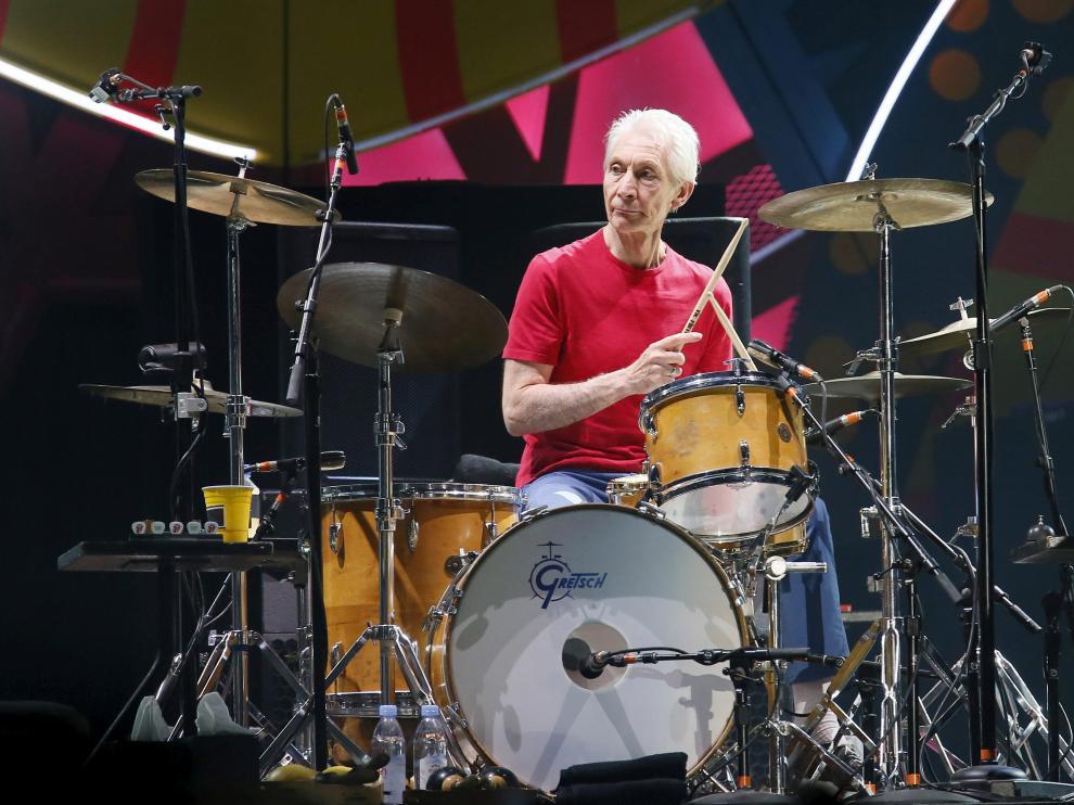 Charlie Watts, batería de los Rolling Stones