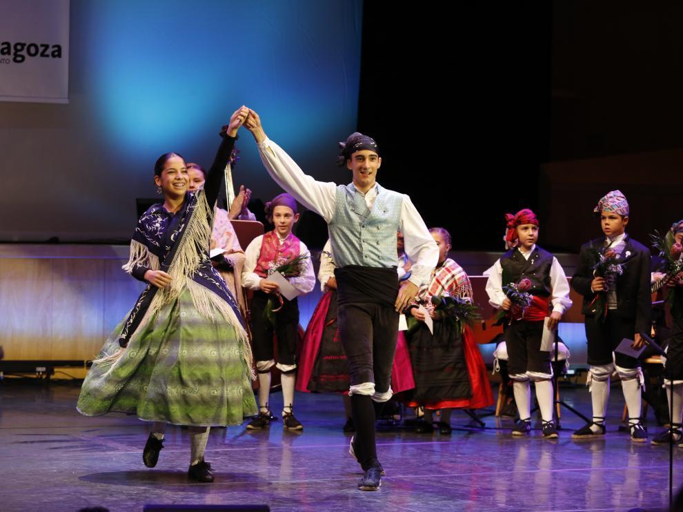 Los niños también serán protagonistas de 'Zarajota'. Certamen oficial de jota benjamín.