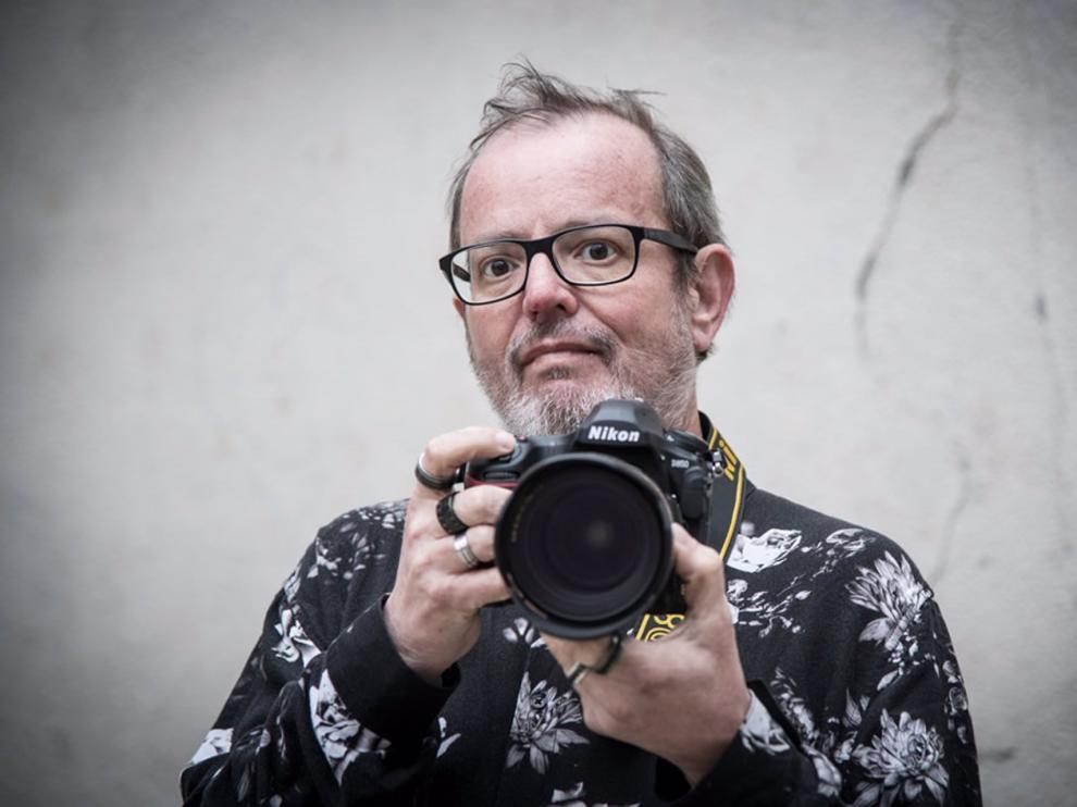 El fotoperiodista especializado en música en directo Xavier Mercadé