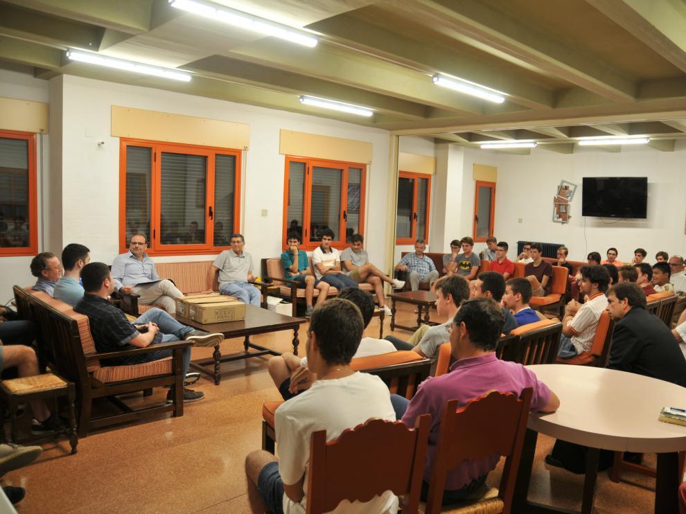 Imagen de archivo de la presentación de las Jornadas Humanísticas.