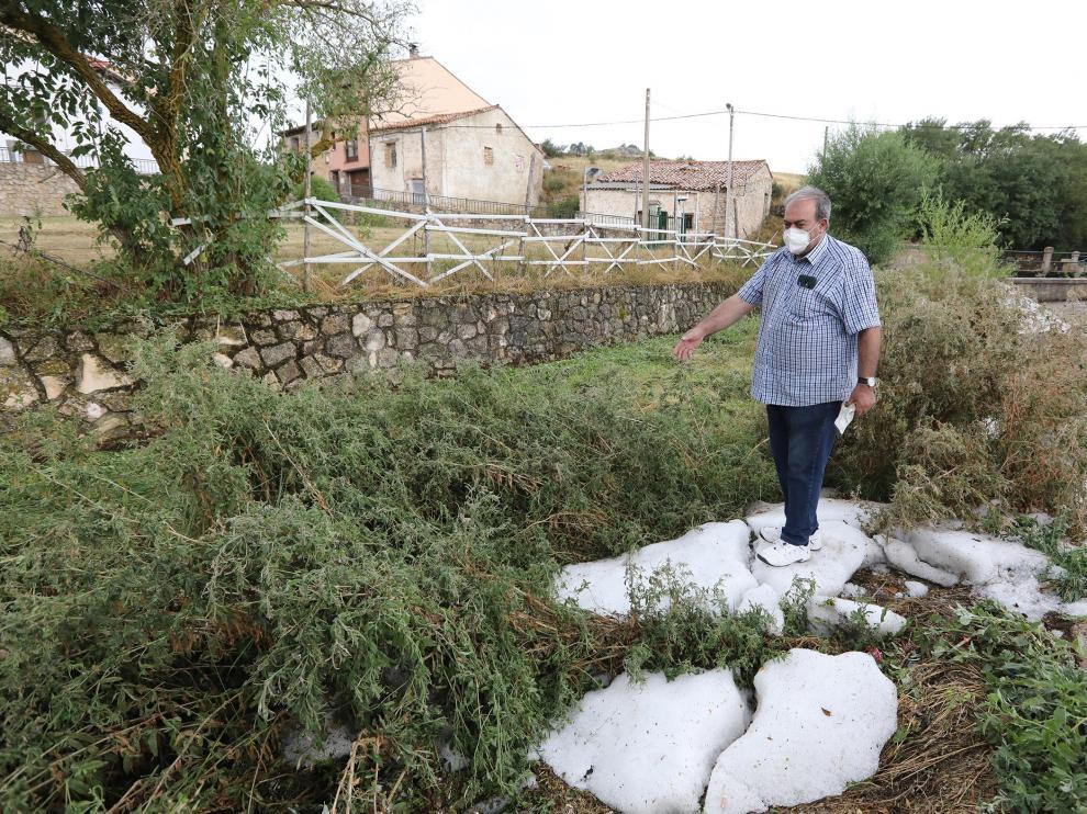 Villar del Cobo, Guadalaviar y Griegos, dañadas por el temporal