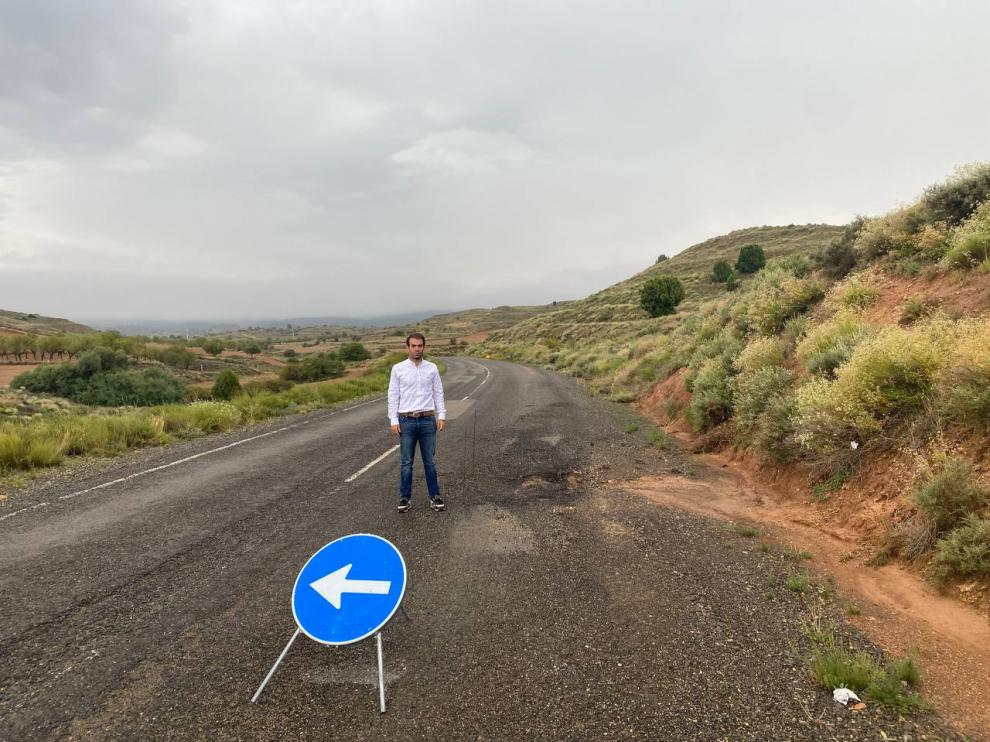 Aranda, en la carretera que une Castralvo y Aldehuela.