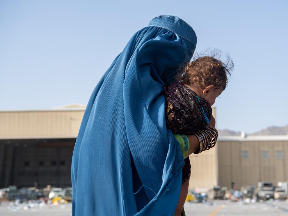 La retirada de los estadounidenses deja a los afganos a su suerte.