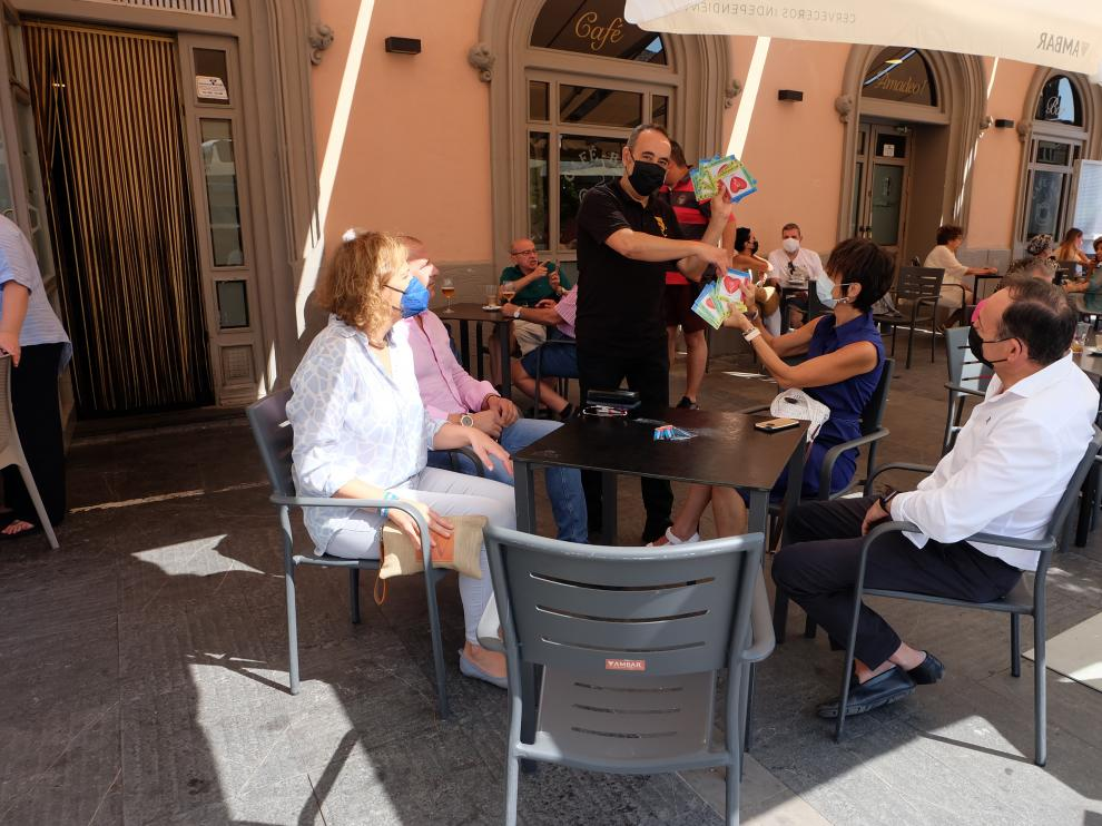 La campaña de las 'no fiestas' en Tarazona ya está en marcha
