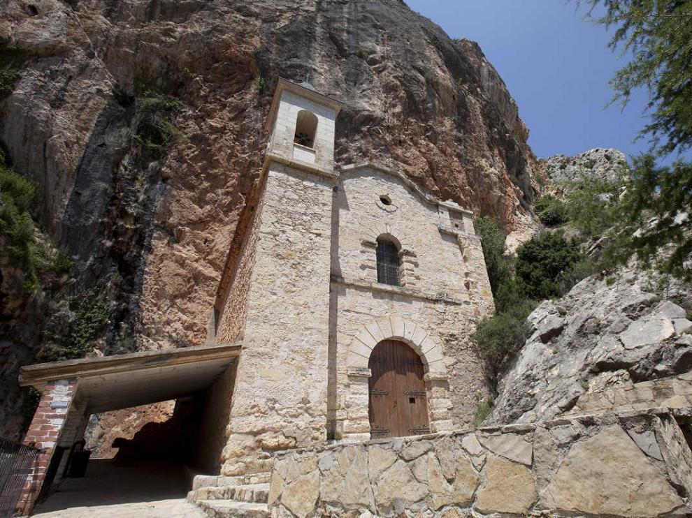 La ermita del Llovedor de Castellote.