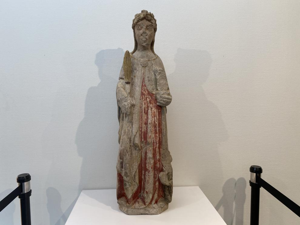La talla restaurada