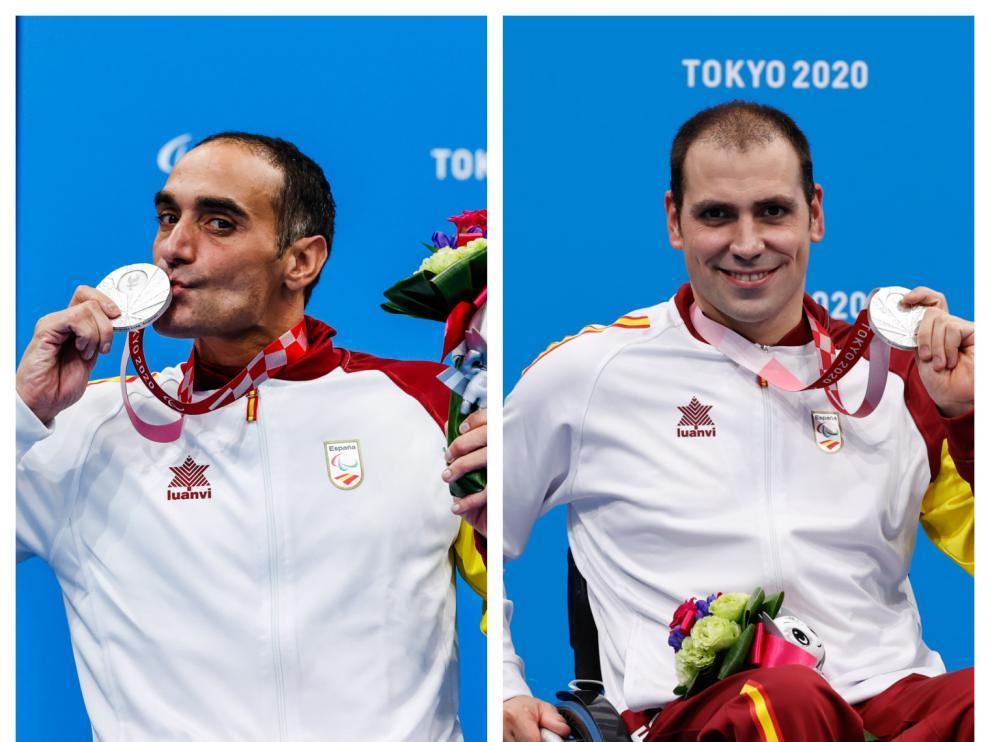 Miguel Luque y Toni Ponce, platas en natación en los Juegos de Tokio