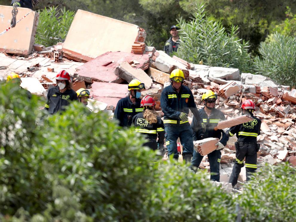 """El edificio derrumbado en Peñíscola tenía 30 años y colapsó """"bastante rápido"""""""