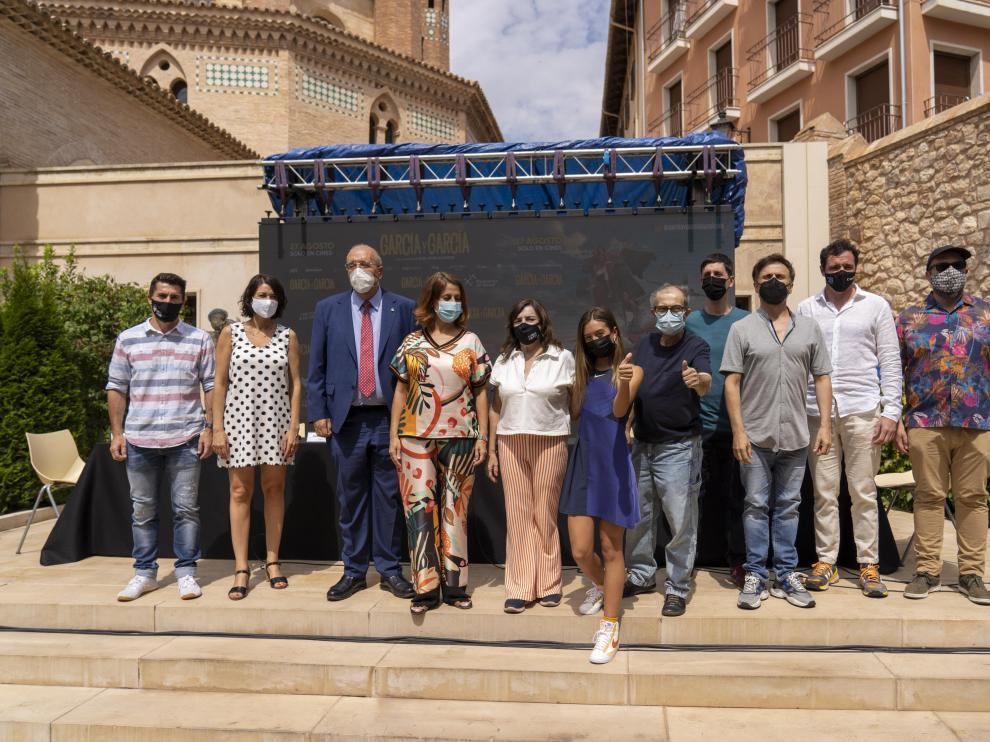 Presentación de la película 'García y García' en Teruel