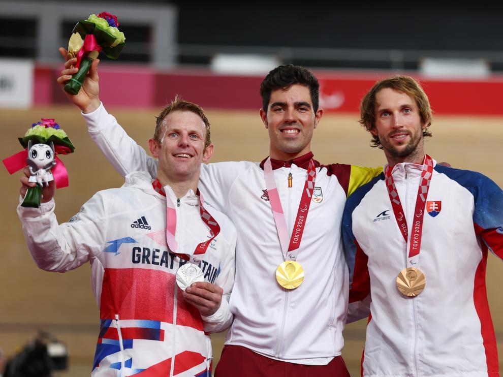 Alfonso Cabello, primera medalla de oro de España en los Juegos Paralímpicos
