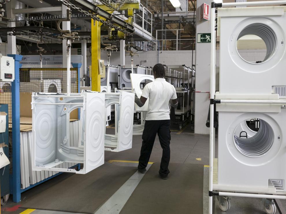 Fábrica de lavadoras del grupo BSH en La cartuja