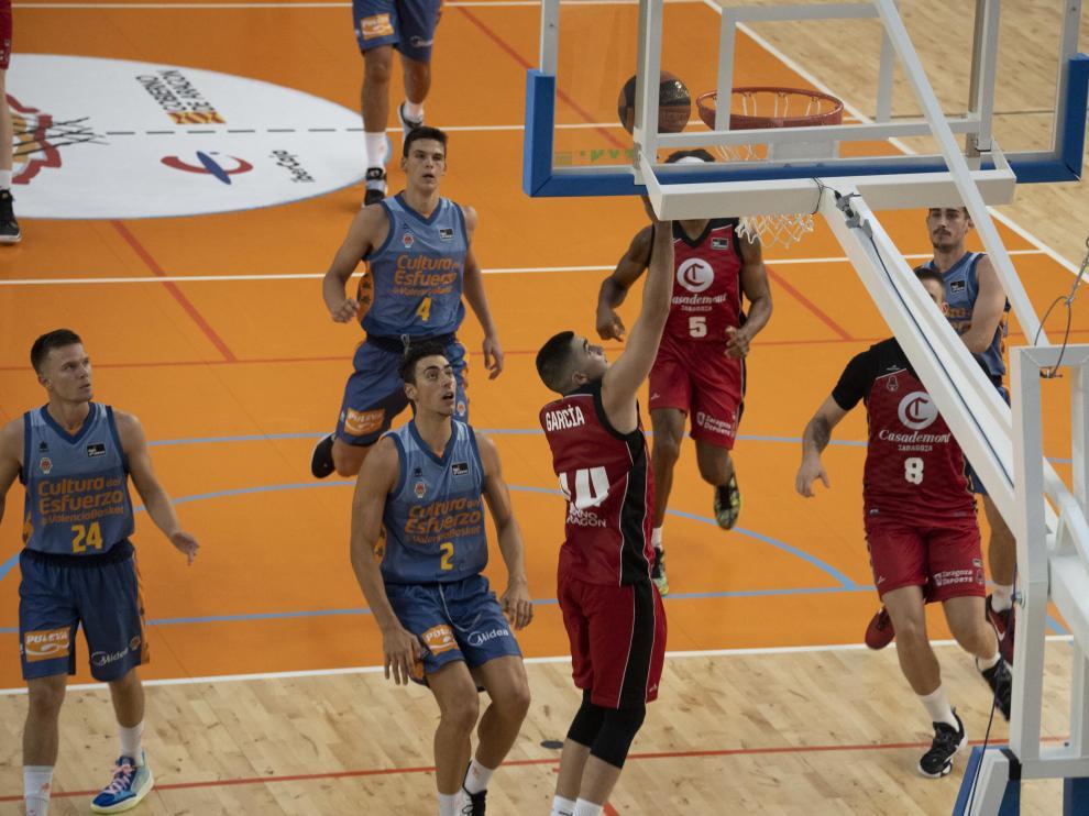 Partido Casademont Zaragoza-Valencia Basket, Memorial Pepe Lanzuela disputado en Teruel