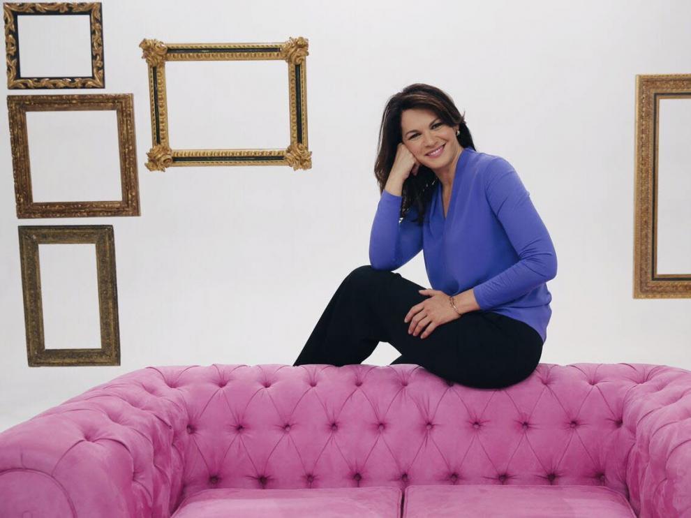 Fabiola Martínez, en una imagen de Telemadrid