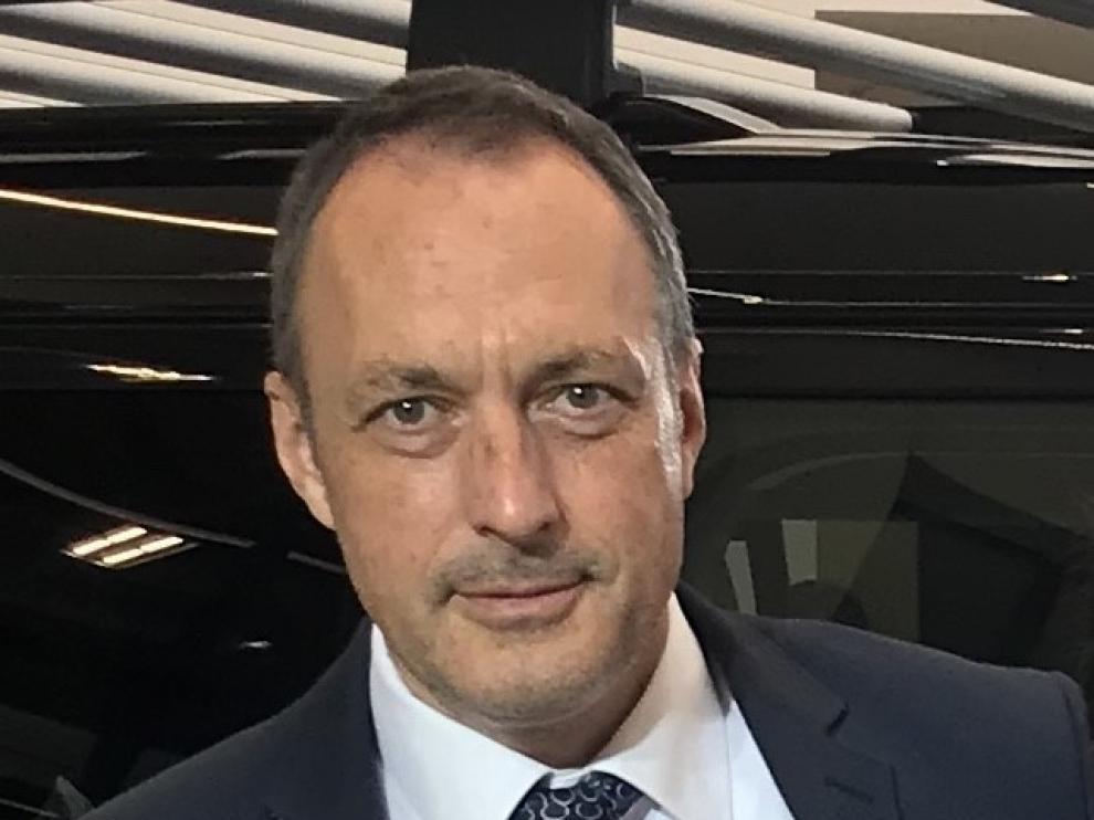 Guillermo Macholas, director de Logística de la planta de Jaguar Land Rover en Eslovaquia.