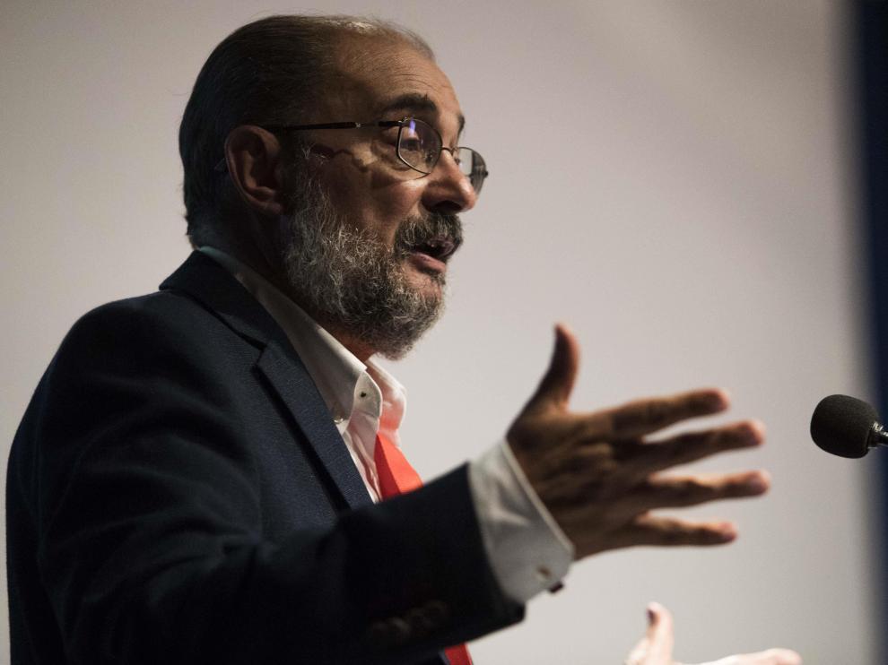 Javier Lambán optará a la reelección como líder del PSOE aragonés.