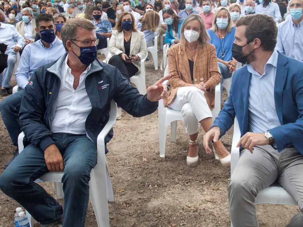 Casado y Feijoo inauguran el curso Político del PP