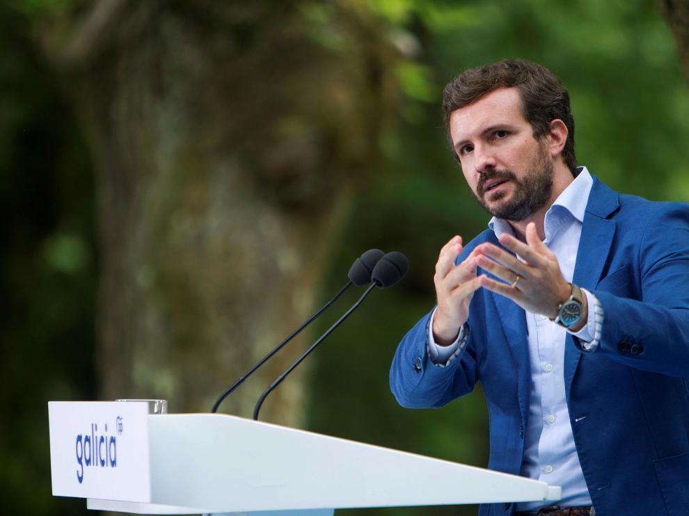 Casado y Feijóo inauguran el curso Político del PP