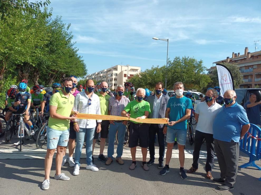 El Club Ciclistas de Barbastro ha celebrado la 40 edición de la prueba.