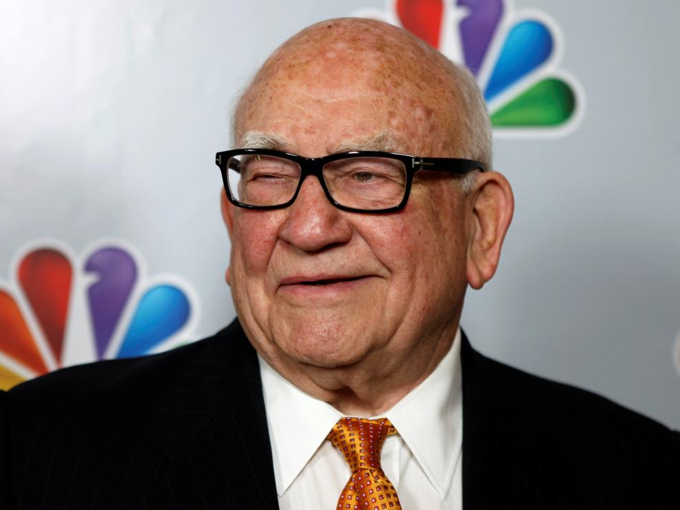 """FILE PHOTO: Ed Asner arrives for the taping of """"Betty White's 90th Birthday: A Tribute to America's Golden Girl"""" in Los Angeles"""