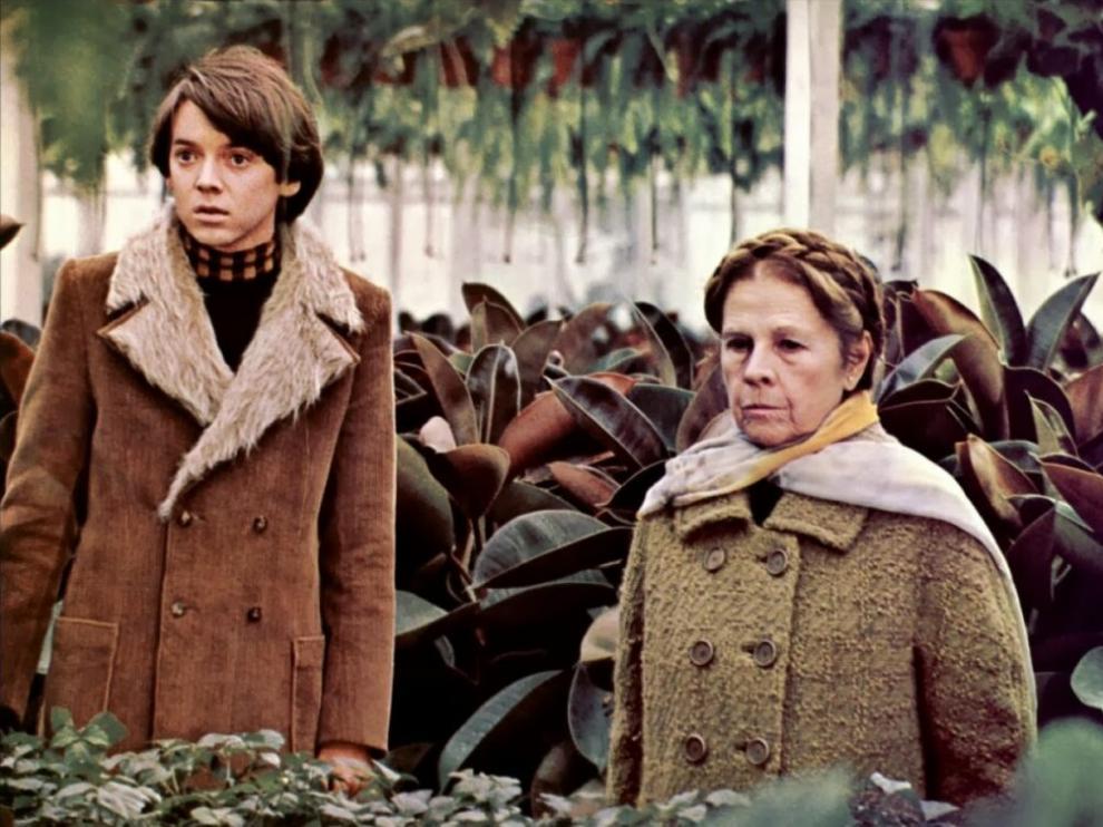 Un fotograma de la película 'Harold y Maude'.
