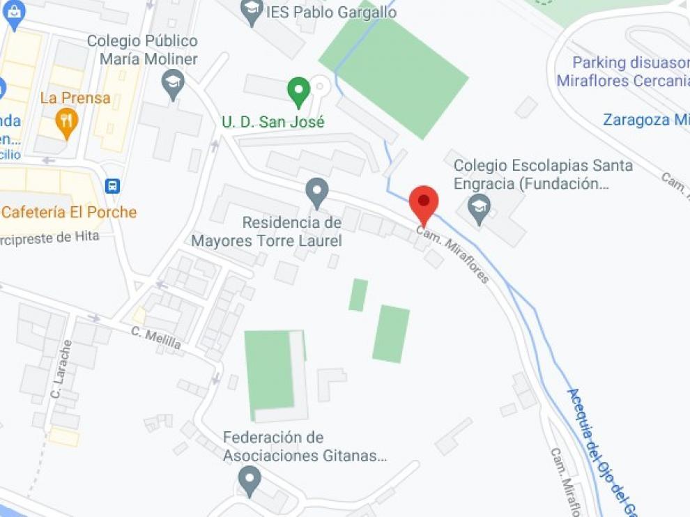 La agresión entre madre e hija ha tenido lugar en Camino Miraflores, en el barrio de San José.