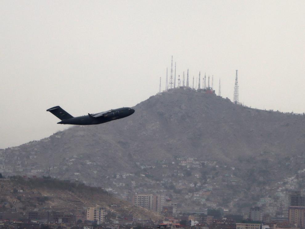 Afghanistan crisis - Kabul Airport