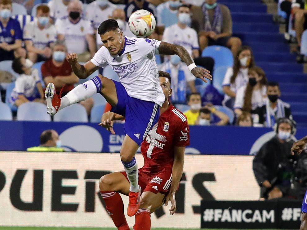 Partido Real Zaragoza - CF Cartagena, en La Romareda.
