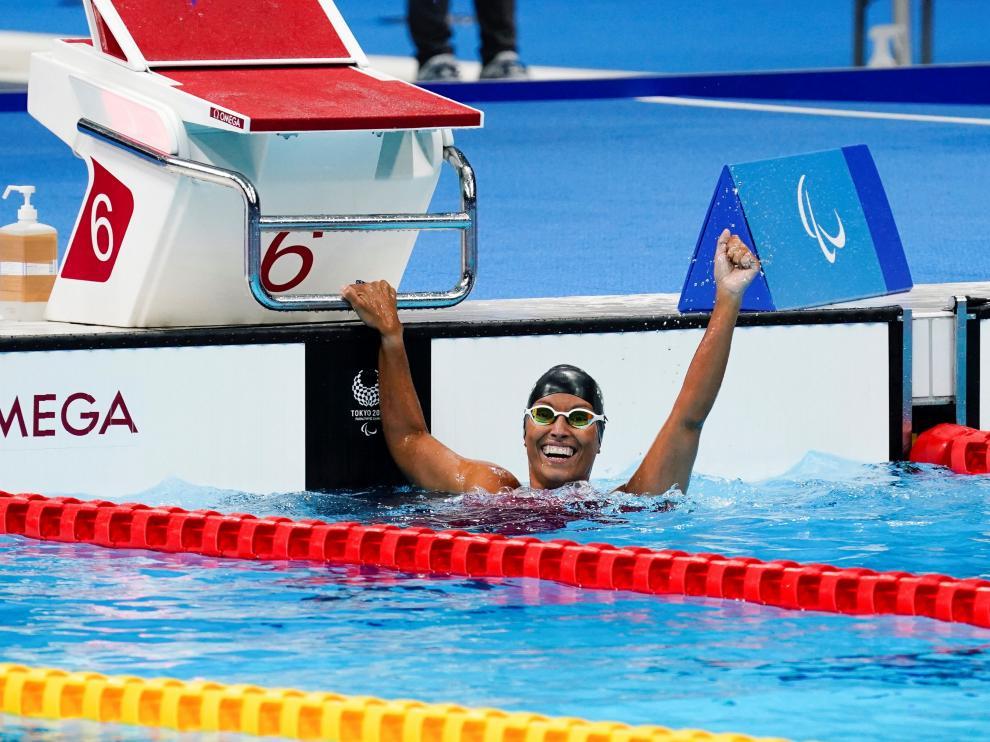 Teresa Perales gana una medalla de plata en los Juegos de Tokio