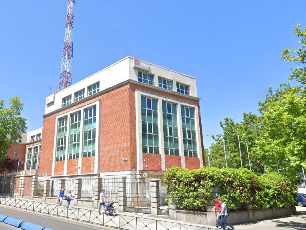 Antiguo edificio del NO-DO, en Madrid.
