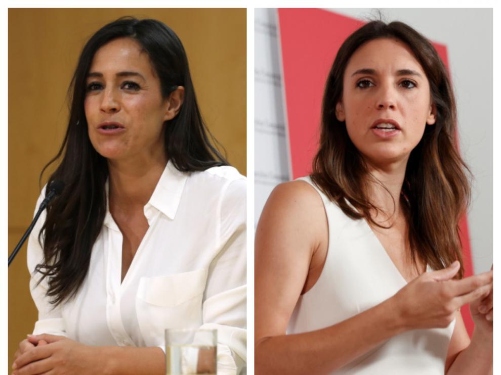 Begoña Villacís e Irene Montero.