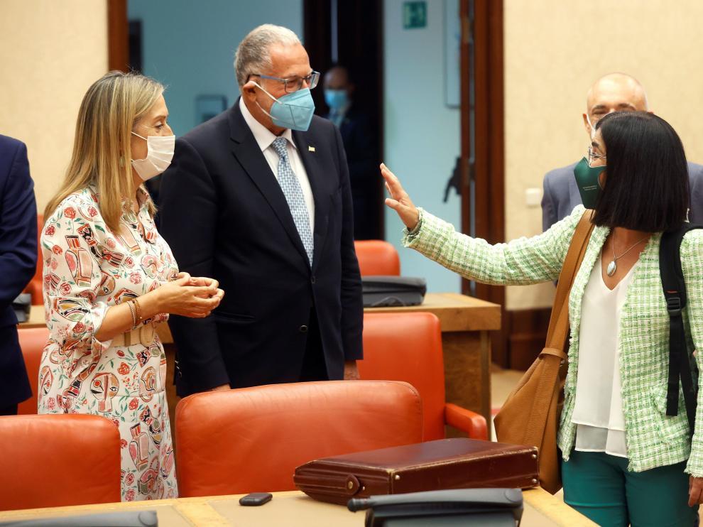 """Darias dice que España es uno de los lugares del mundo """"más protegido"""" frente al coronaviurs"""
