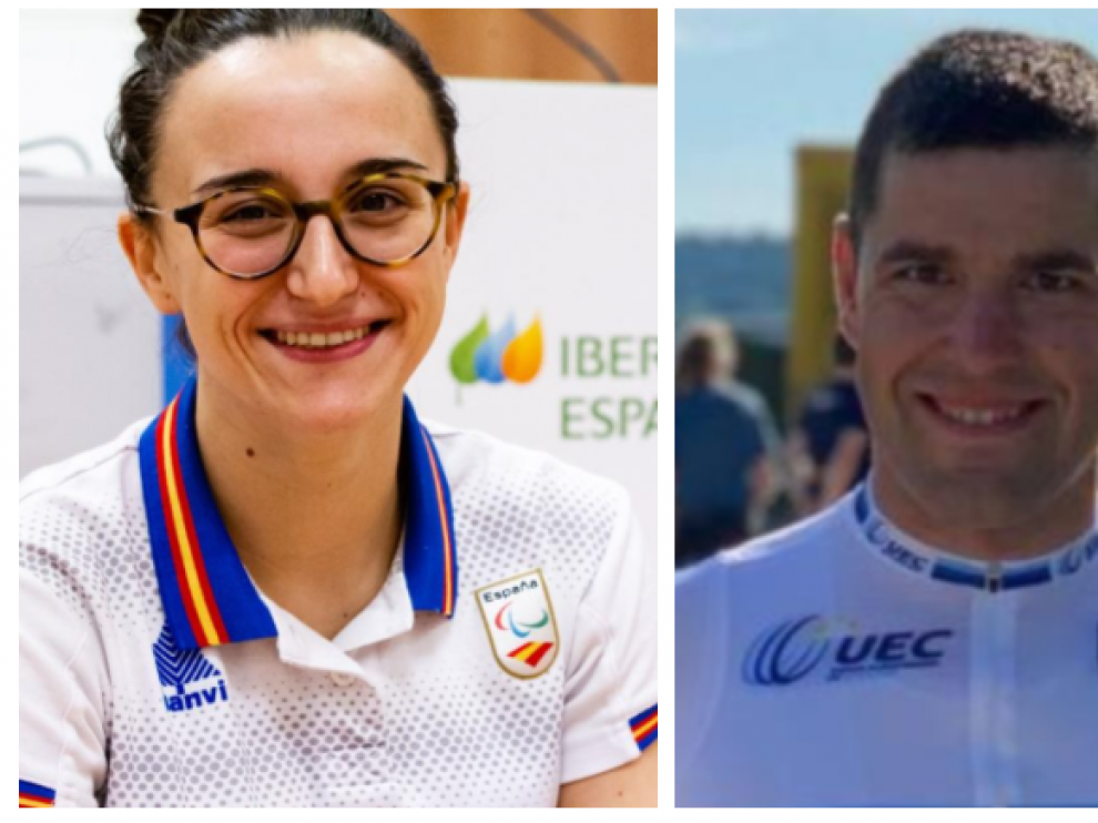 Eduardo Santas y María Delgado