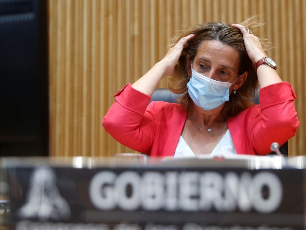 Comparecencia de Teresa Ribera este lunes en el Congreso