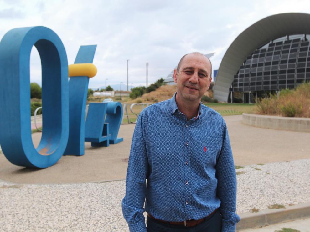 Jesús Pérez Navasa, director del Planetario de Aragón.
