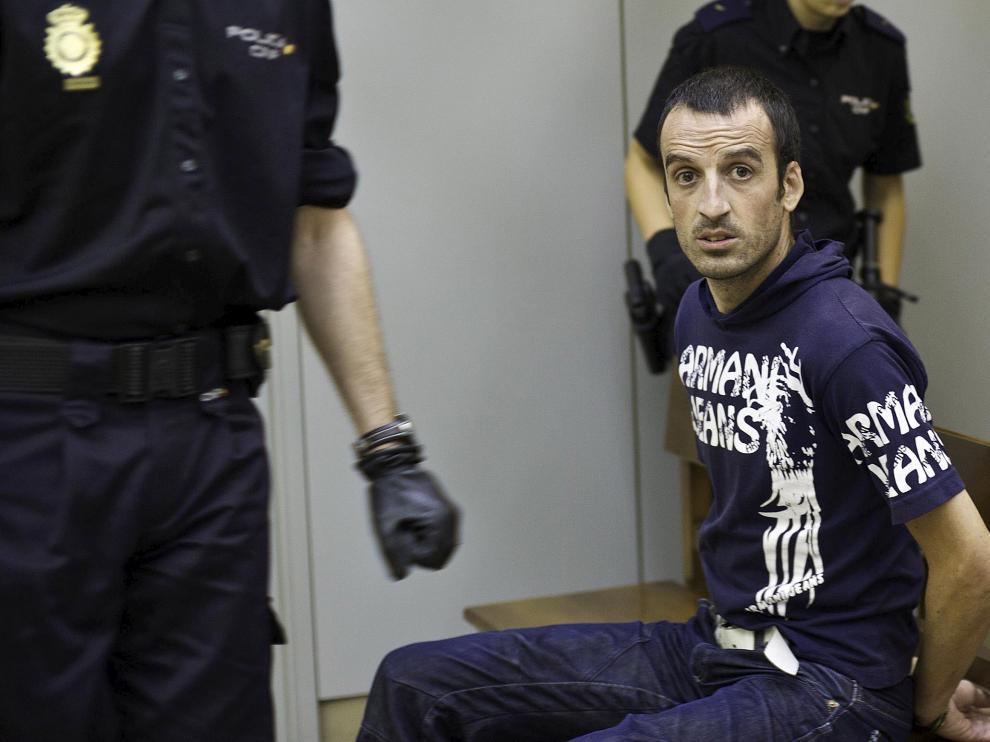 El sospehoso, en un juicio por el mismo delito que se celebró en 2010.