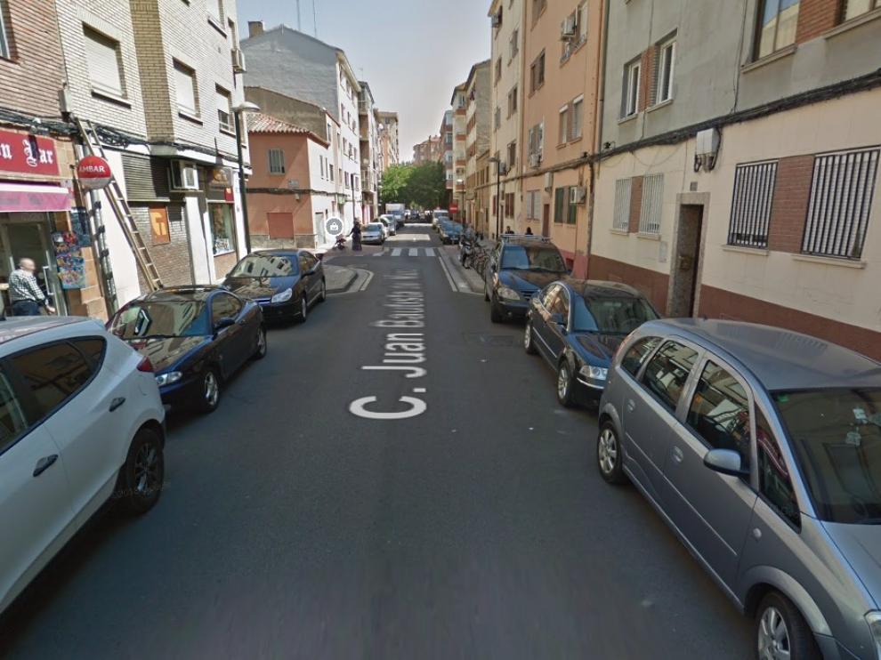 Los hecho han tenido lugar en la calle Juan Bautista del Mazo