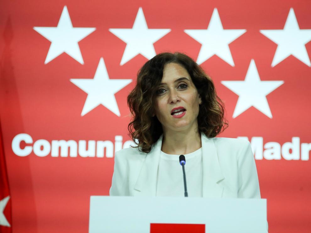Rueda de prensa de Isabel Díaz Ayuso tras Consejo de Gobierno