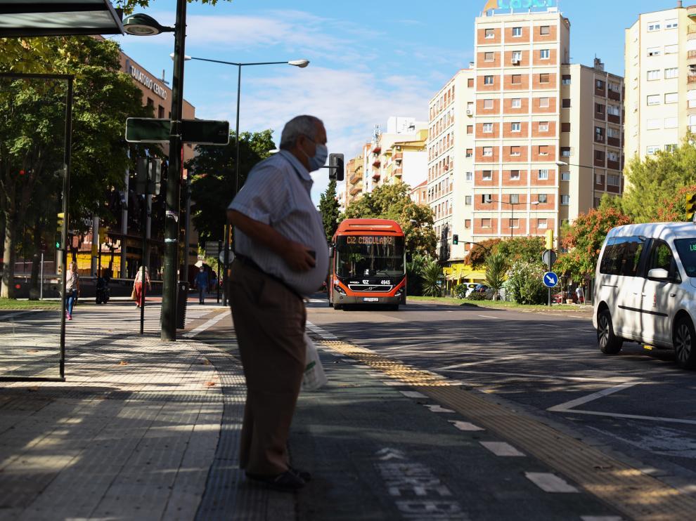 Huelga del bus en Zaragoza